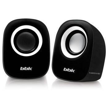 Колонки BBK CA-303S черный/белый