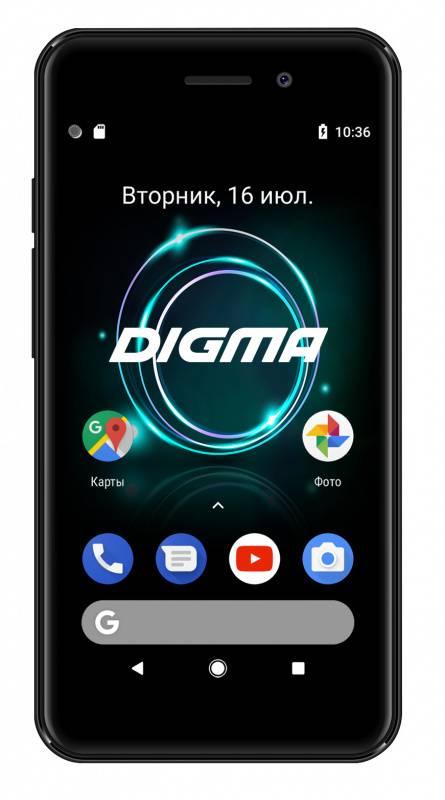 Смартфон Digma A453 3G Linx 8ГБ черный (LT4038PG) - фото 1