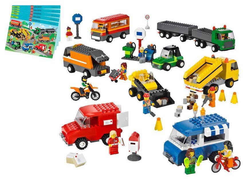 Конструктор Lego Education Творческое развитие Общественный и муниципальный транспорт [9333] - фото 1