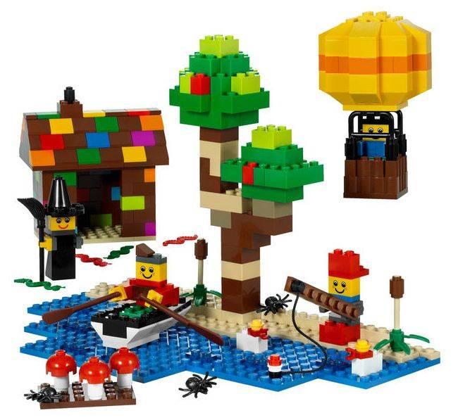 Конструктор Lego Education Раннее языковое развитие Декорации [9385] - фото 2