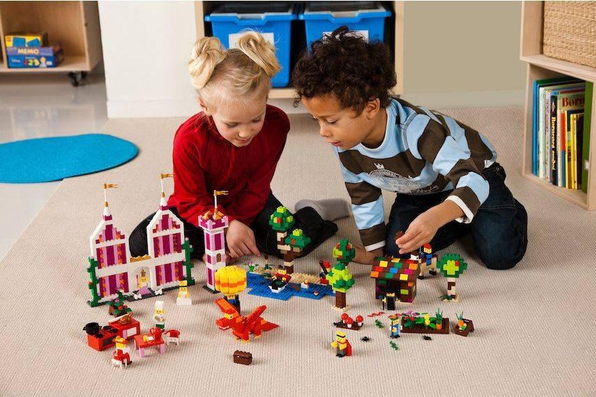 Конструктор Lego Education Раннее языковое развитие Декорации [9385] - фото 7
