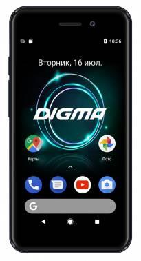Смартфон Digma A453 3G Linx 8ГБ серый (LT4038PG)