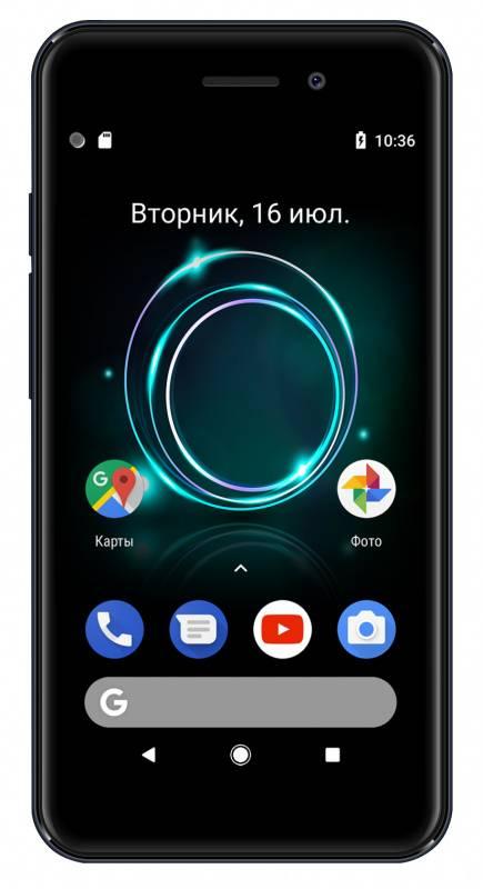 Смартфон Digma A453 3G Linx 8ГБ серый (LT4038PG) - фото 2