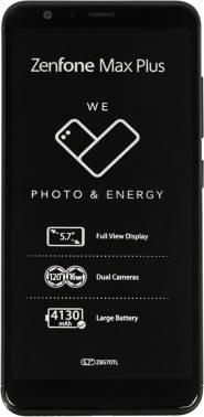 Смартфон Asus ZB570TL ZenFone Max ZF4 M1 черный, встроенная память 32Gb, дисплей 5.7 2160x1080, Android 7.0, камера 16Mpix, поддержка 3G, 4G, 2Sim, 802.11bgn, BT, GPS, microSD до 256Gb (90AX0181-M00080)