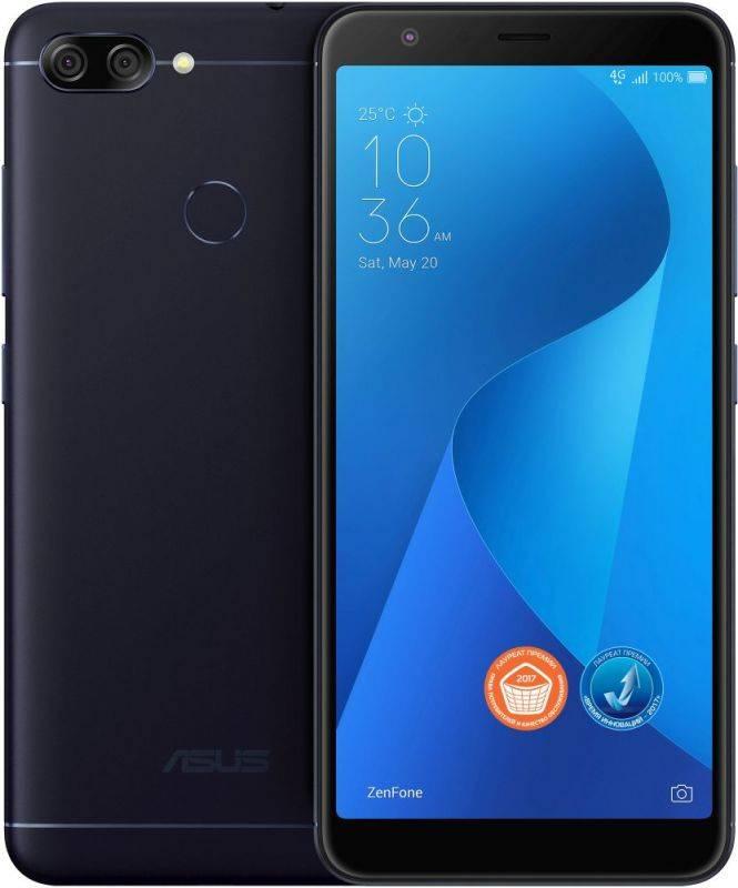 Смартфон Asus ZenFone Max Plus M1 ZB570TL 32ГБ черный - фото 11