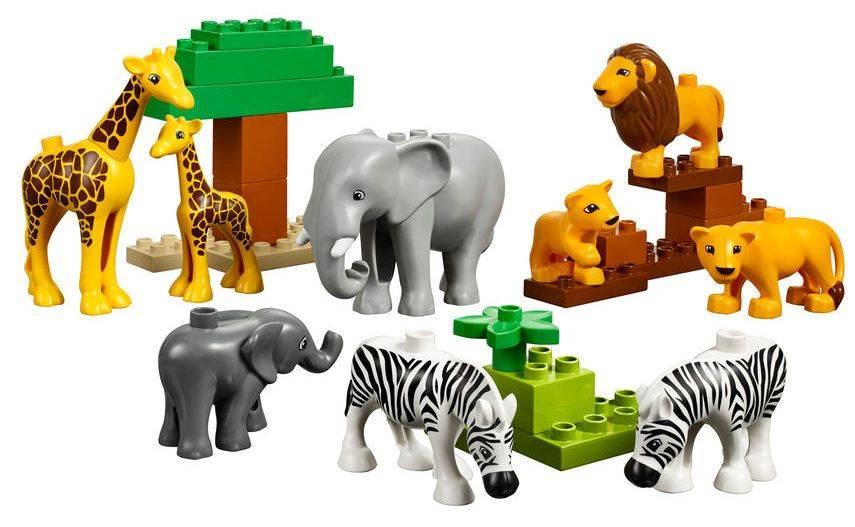 Конструктор Lego Education Duplo Дикие животные [45012] - фото 4