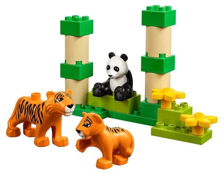Конструктор Lego Education Duplo Дикие животные [45012] - фото 5