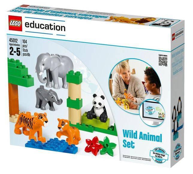 Конструктор Lego Education Duplo Дикие животные [45012] - фото 6