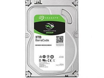 Жесткий диск Seagate Barracuda ST3000DM007, объем 3Tb, форм-фактор 3.5, буферная память 64МБ, скорость вращения шпинделя 5400 об/мин, интерфейс SATA-III