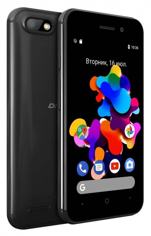 Смартфон Digma HIT Q401 3G 8ГБ черный (HT4039PG) - фото 5