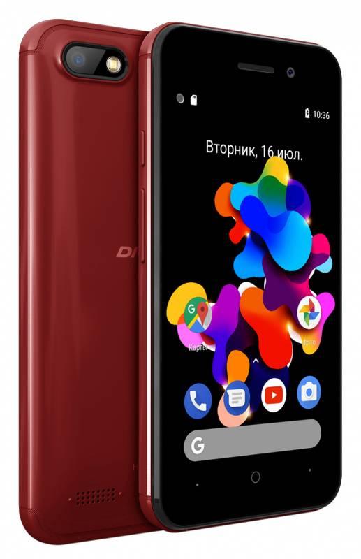 Смартфон Digma HIT Q401 3G 8ГБ красный (HT4039PG) - фото 5