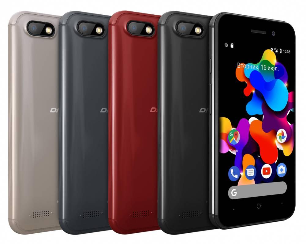 Смартфон Digma HIT Q401 3G 8ГБ красный (HT4039PG) - фото 8