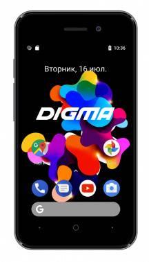 Смартфон Digma HIT Q401 3G 8ГБ серый титан (HT4039PG)