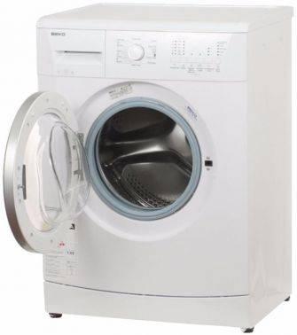 Стиральная машина Beko WKY 61021 YB2, белый корпус, белый люк, фронтальная загрузка до 6кг, максимальная скорость отжима 1000об/мин