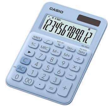 Калькулятор настольный Casio MS-20UC-LB-S-EC светло-голубой