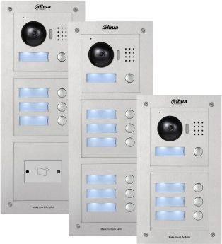 Видеопанель Dahua DH-VTO2000A-C серебристый