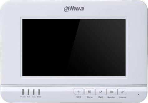 Видеодомофон Dahua DHI-VTH1520A белый - фото 1