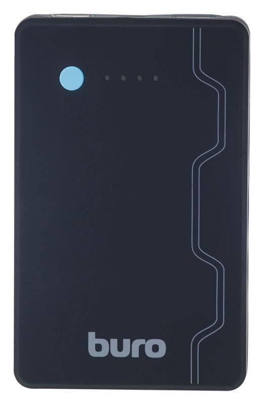 Мобильный аккумулятор BURO RA-13000-QC3.0 черный - фото 2