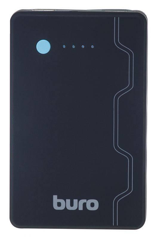 Мобильный аккумулятор BURO RA-13000-QC3.0 черный - фото 3