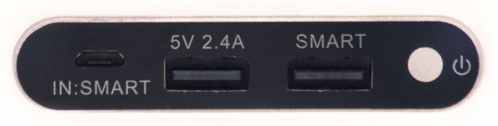 Мобильный аккумулятор BURO RA-10000-QC3.0-I&O золотистый - фото 5