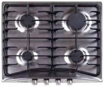 Газовая варочная поверхность Electronicsdeluxe 5840.01гмв-000 нержавеющая сталь