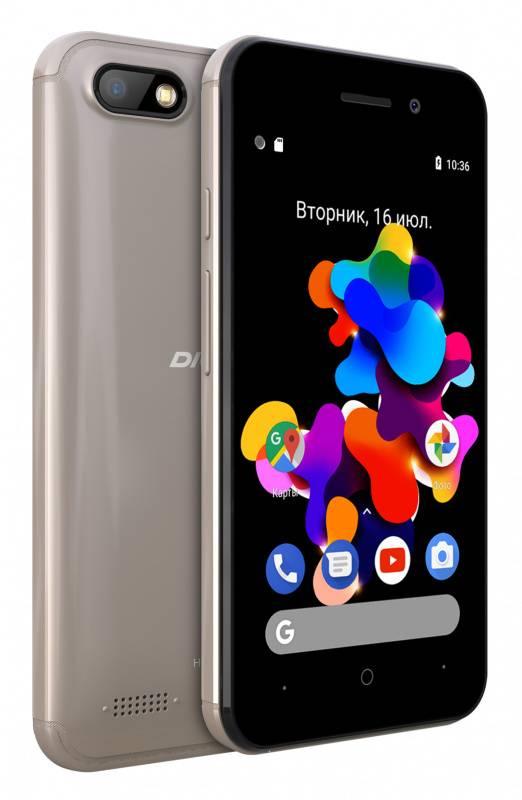 Смартфон Digma Q401 3G HIT 8ГБ золотистый - фото 5