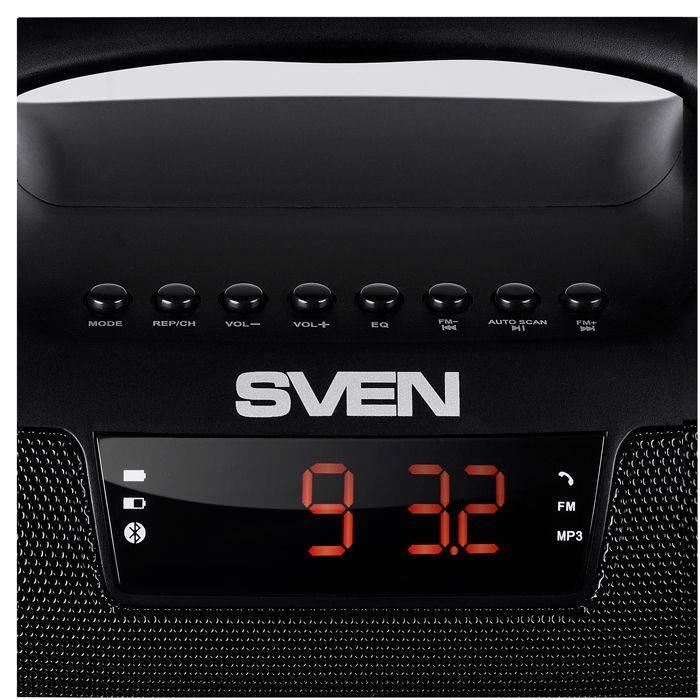 Колонка портативная Sven PS-460 черный - фото 3