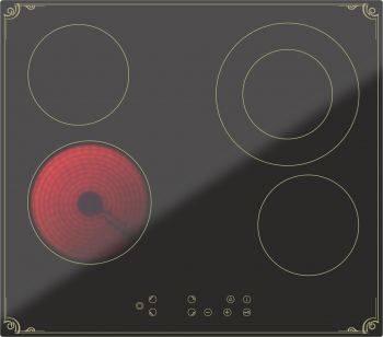 Варочная поверхность Darina 4P8 E 326 B черный (000055441)