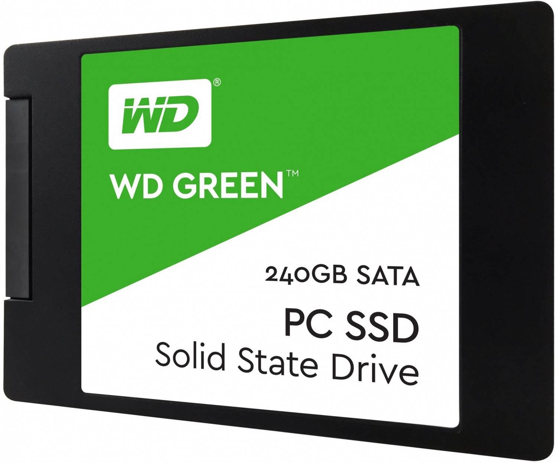 Накопитель SSD 240Gb WD Green WDS240G2G0A SATA III - фото 1