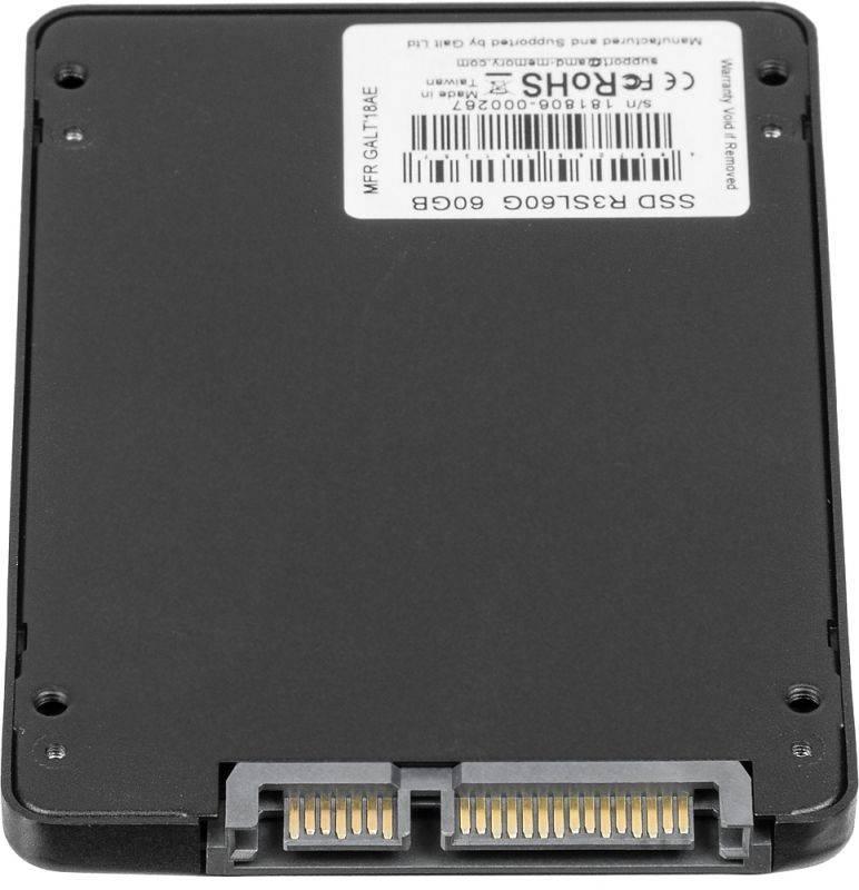 Накопитель SSD 60Gb AMD Radeon R3 R3SL60G SATA III - фото 4