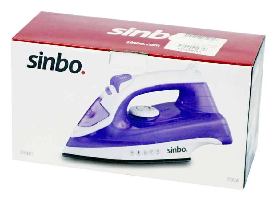 Утюг Sinbo SSI 6601 фиолетовый - фото 6