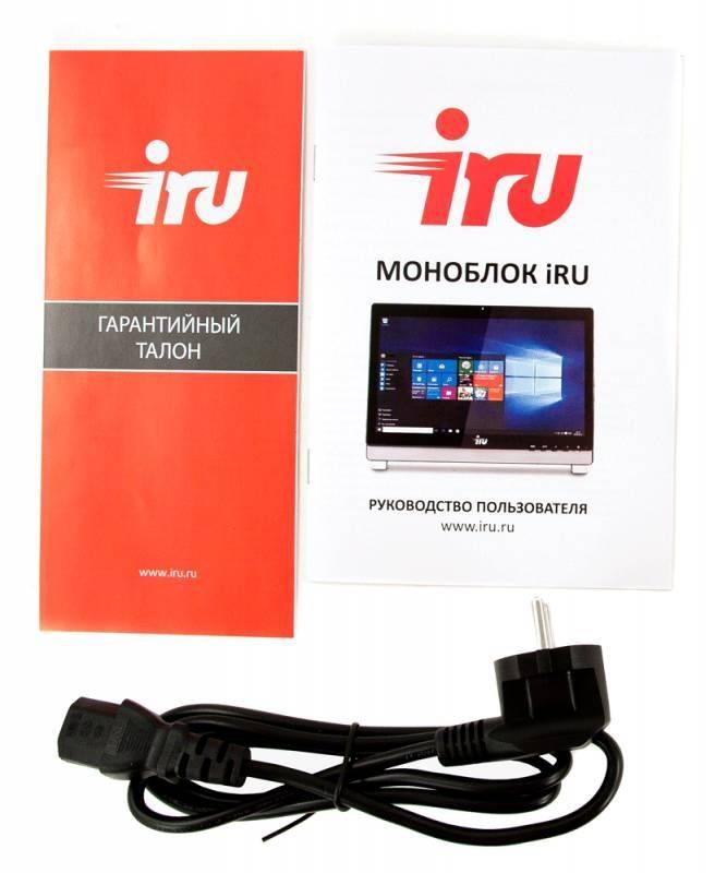 """Моноблок 21.5"""" IRU Office K2114 черный (1015230) - фото 10"""