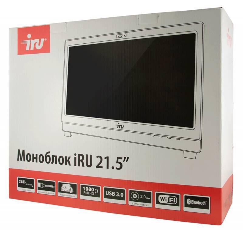 """Моноблок 21.5"""" IRU Office K2114 черный (1015230) - фото 11"""