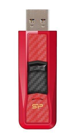 Флешка Silicon Power Blaze B50 32ГБ USB3.0 красный (SP032GBUF3B50V1R) - фото 1