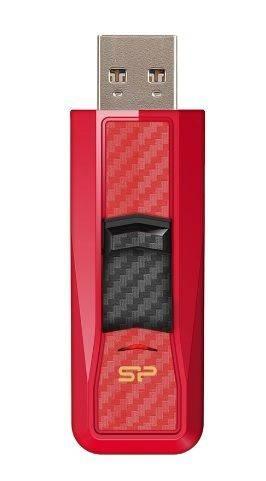 Флешка Silicon Power Blaze B50 128ГБ USB3.0 красный (SP128GBUF3B50V1R) - фото 1