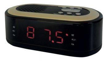 Радиобудильник Hyundai H-RCL230 черный