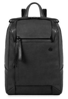 Рюкзак женский Piquadro Pan черный, кожа натуральная (BD4300S94/N)