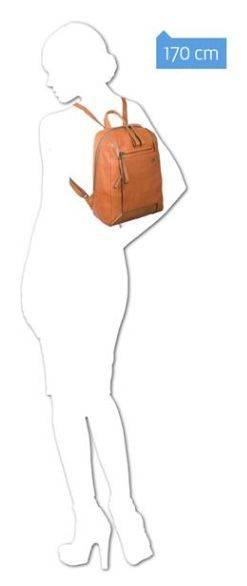 Рюкзак женский Piquadro Pan черный, кожа натуральная (BD4300S94/N) - фото 3