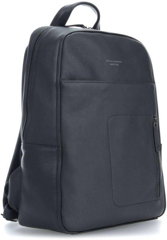 Рюкзак Piquadro David синий, кожа натуральная (CA4092W86/BLU) - фото 2