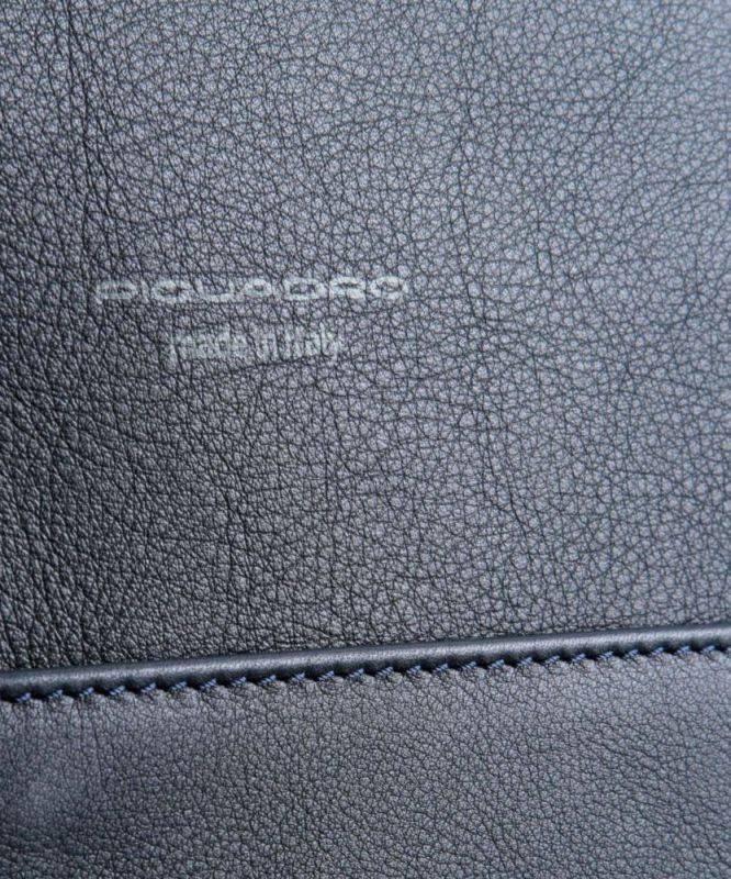 Рюкзак Piquadro David синий, кожа натуральная (CA4092W86/BLU) - фото 5