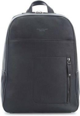 Рюкзак Piquadro David черный, кожа натуральная (CA4092W86/N)