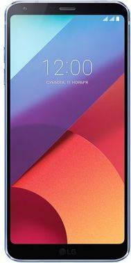 Смартфон LG H870S G6 синий, встроенная память 32Gb, дисплей 5.7 2880x1440, Android 7.0, камера 13Mpix, поддержка 3G, 4G, 2Sim, 802.11abgnac, BT, GPS, FM радио, microSD до 2000Gb (LGH870S.ACISBL)