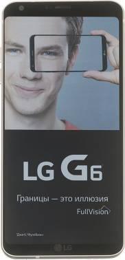 Смартфон LG H870S G6 золотистый, встроенная память 32Gb, дисплей 5.7 2880x1440, Android 7.0, камера 13Mpix, поддержка 3G, 4G, 2Sim, 802.11abgnac, BT, GPS, FM радио, microSD до 2000Gb (LGH870S.ACISGD)