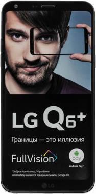 Смартфон LG Q6+ M700AN 64ГБ черный