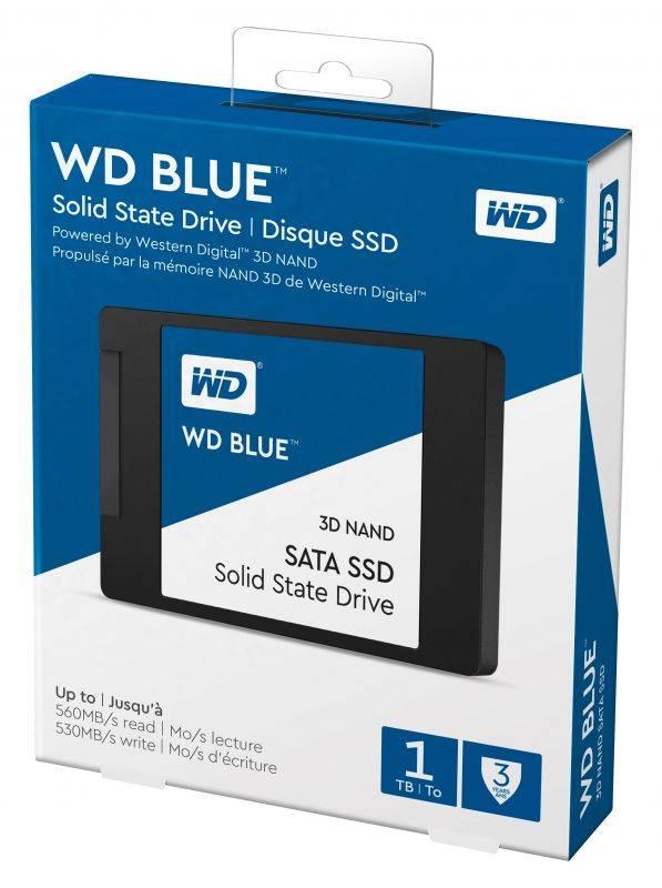 Накопитель SSD 1Tb WD Blue WDS100T2B0A SATA III - фото 2