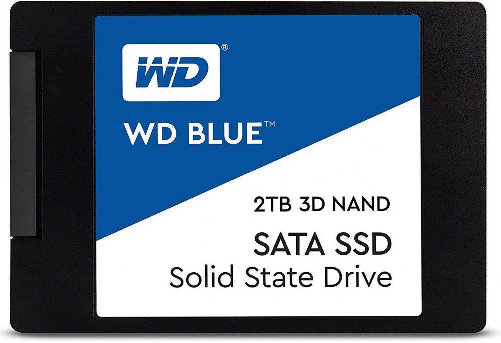 Накопитель SSD 2Tb WD Blue WDS200T2B0A SATA III - фото 1