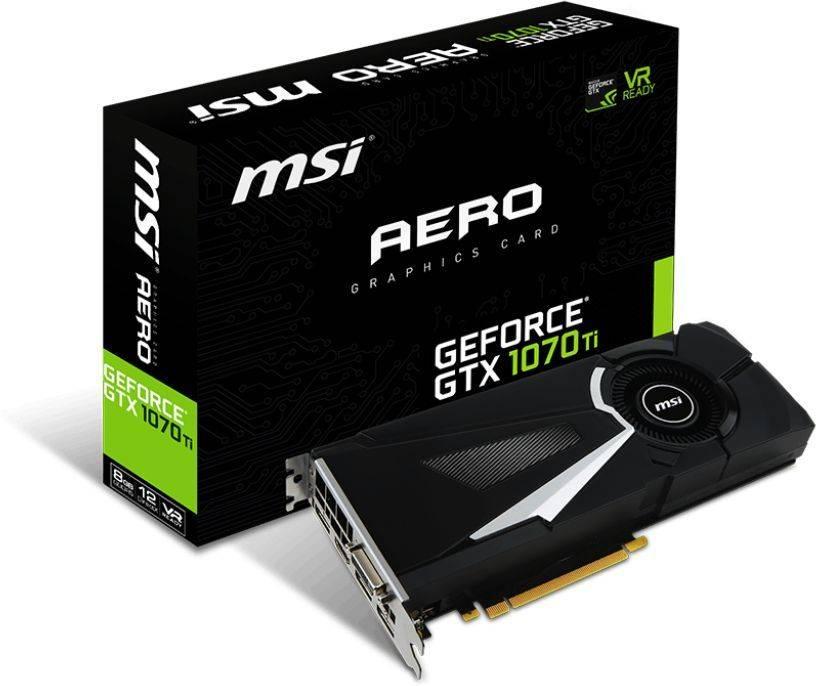 Видеокарта MSI GTX 1070 TI AERO 8G 8192 МБ - фото 5