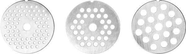 Мясорубка Redmond RMG-1216-8 белый/серебристый - фото 3