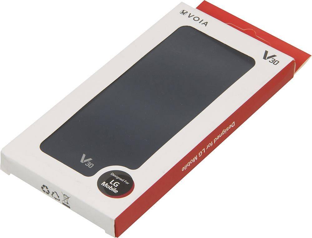Чехол LG H930 VOIA, для LG V30, синий - фото 5