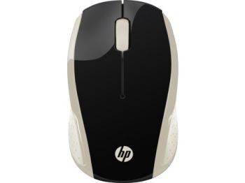 Мышь HP 200 Silk золотистый (2HU83AA)